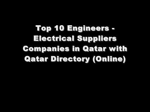 Top 10 Engineers - Electrical Supplies Companies in Doha, Qatar