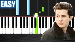 Charlie Puth - Marvin Gaye ft. Meghan Trainor - EASY Piano Tutorial by PlutaX - Synthesia