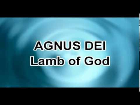 AGNUS DEI - Lamb of GOD