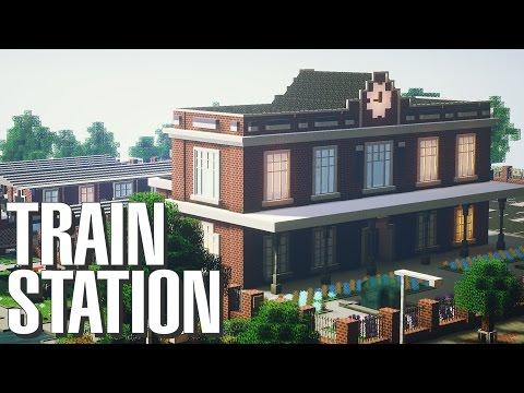 Minecraft | Classic British Train Station Build [Map Download]