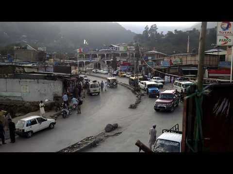 Balakot valley market view