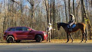 Лучший ДЖИП! Просто СЕКС! Jeep Grand Cherokee SRT Джип Гранд Чероки СРТ. Елена Лисовская. Лиса рулит