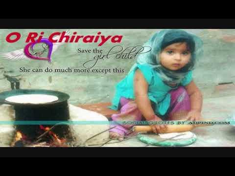 O Ri chiraiya nanhi si chidiya. Angna me fir se aa jana