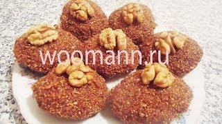 Рецепт печенье из талкана-Азербайджанская кухня