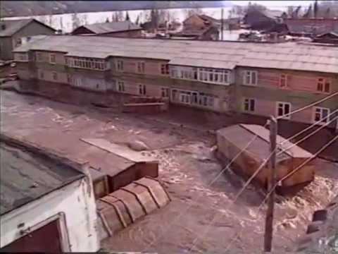 Наводнение 2001-Ленск-1 ч.
