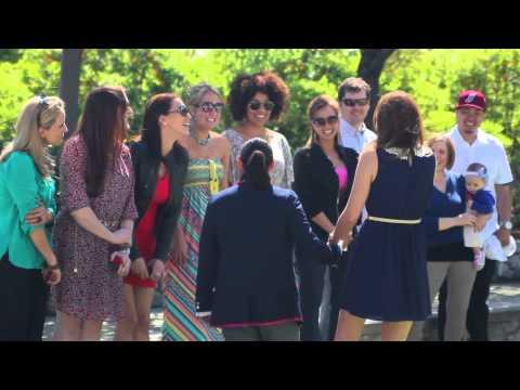 "Ann & Jackie's ""Glee"" inspired wedding proposal video!"