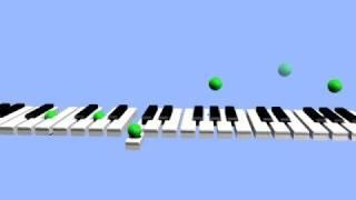 Piano Animation (Maple Leaf Rag)