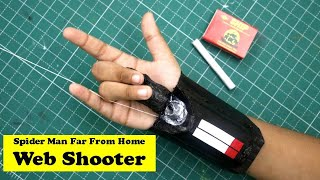 Spiderman Web Shooter made with Matchbox | Spider-Man Far From Home | Easy DIY Avengers Craft Ideas