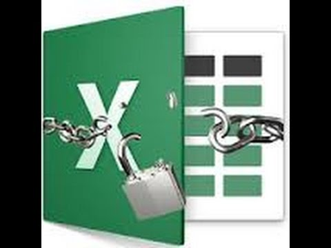 Unprotect Worksheet, Unprotect VBA Project - Password Excel - YouTube