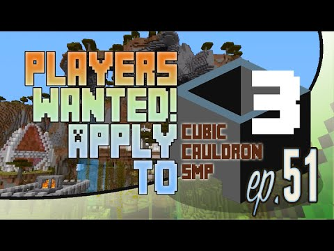Open Video Applications - Let's Play Cubic Cauldron Minecraft SMP Episode 51
