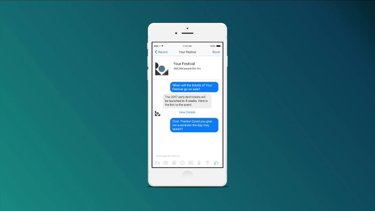 Why All Festivals Need a Messenger Bot - Beatswitch