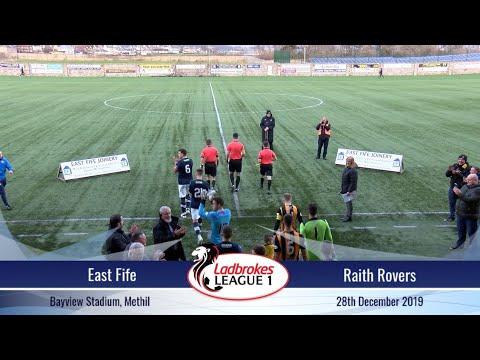East Fife Vs Raith Rovers