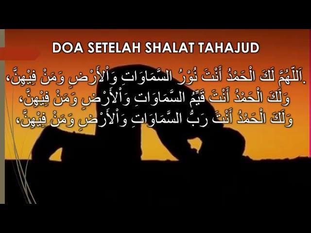 Update Bacaan Doa Sholat Tahajud Beserta Niat Tata Cara