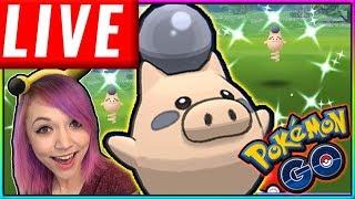 LIVE: SPOINK'D!!?!? SHINY HUNT Pokémon GO Stream