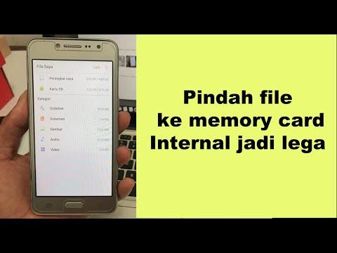 cara memindah file ke memory card