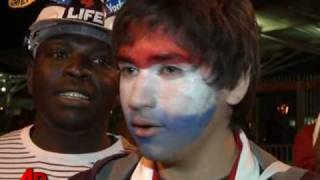 Raw Video: Paraguay Fans Celebrate Win, NZ Out
