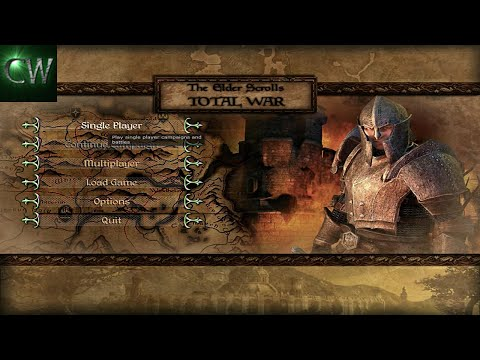 HOW TO INSTALL THE ELDER SCROLLS 1.0 WITH 1.2 PATCH (MOD FOR MEDIEVAL II)