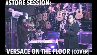 #StoreSession : Versace on The Floor By Christian Kartono feat Christy M and Agus (Bruno Mars )