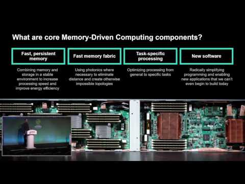 The HPE Machine and Gen Z | Hewlett Packard Enterprise | The Machine | BUD17-503