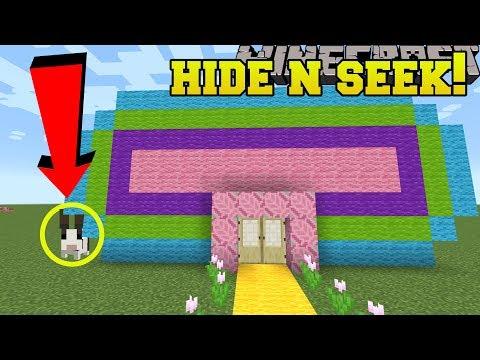 Minecraft: LITTLE BUNNIES HIDE AND SEEK!! - Morph Hide And Seek - Modded Mini-Game