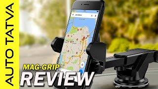 Unboxing: MagGrip Magnetic Mobile Mount | Useful car accessory? | Overview | Hindi