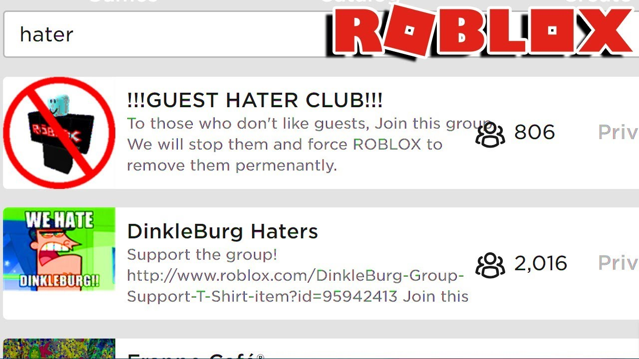 The Worst Roblox Groups Youtube