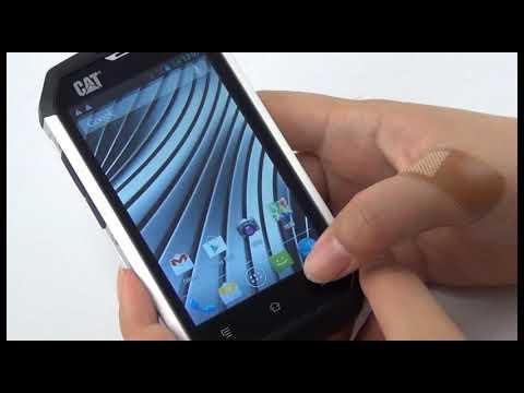 CAT B15 Dual-SIM Unboxing