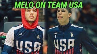 LaMelo & Gelo Ball Lead Team USA To EPIC COMEBACK & Buzzer Beater Win In Denmark! Melo Drops 31 🔥 thumbnail