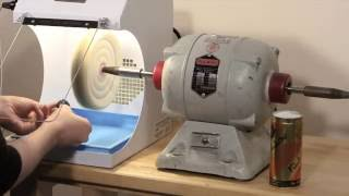 Handler Porta Vac Dust Collector Polishing Vacuum