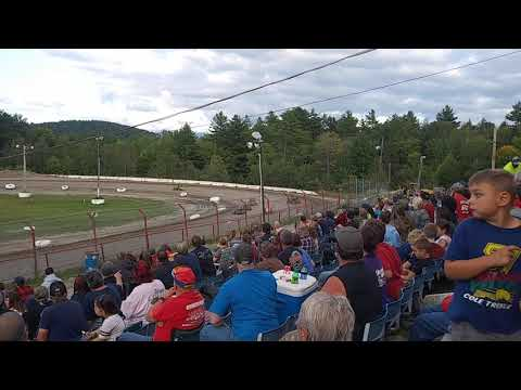 Bear Ridge Speedway Granite State mini sprint 500 heat B 8/24/19