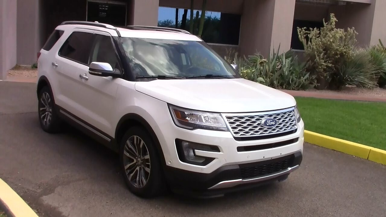 2016 ford explorer platinum 4x4 road and fuel economy. Black Bedroom Furniture Sets. Home Design Ideas