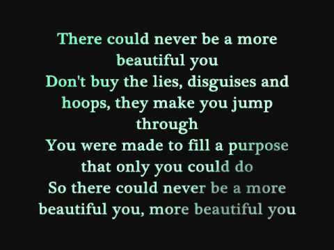 A more beautiful you song