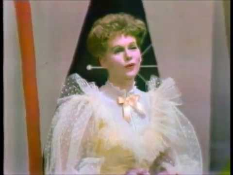 """Barbara Cook sings a medley from """"The Music Man"""" on the Bell Telephone Hour, 1960."""