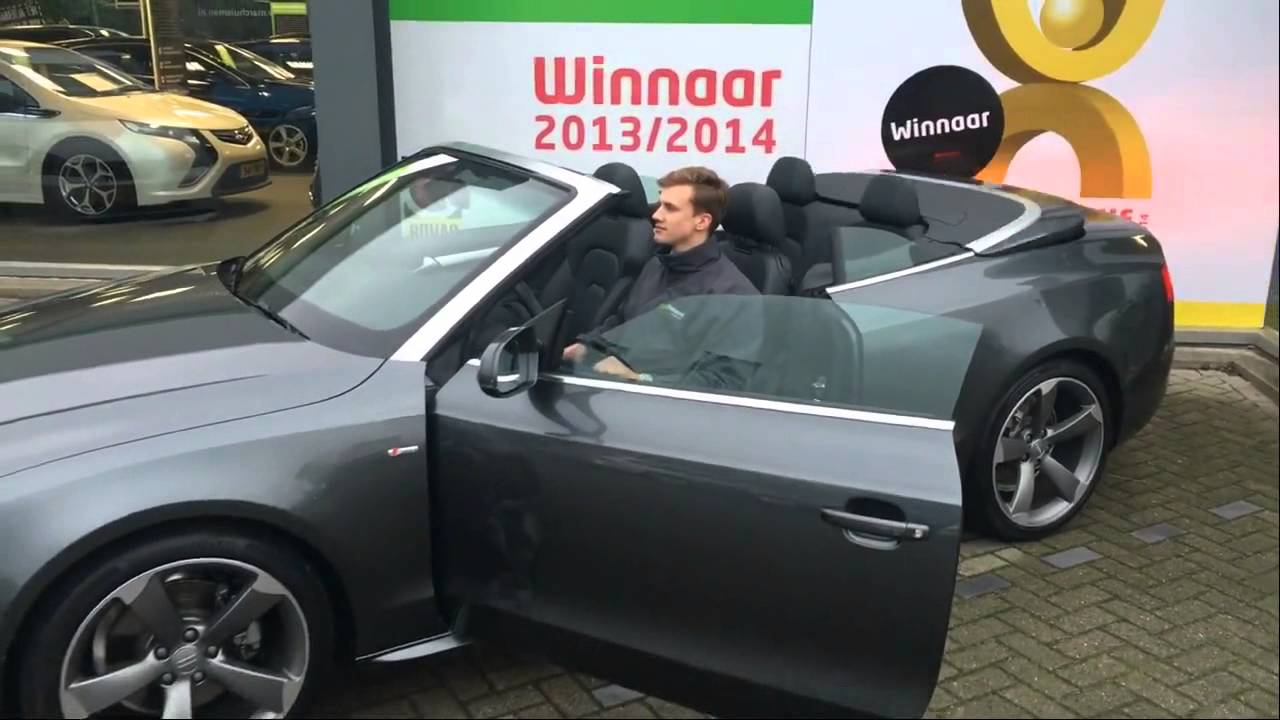 audi a5 cabriolet 1 8 tfsi sport edition open days aut occasion review video youtube