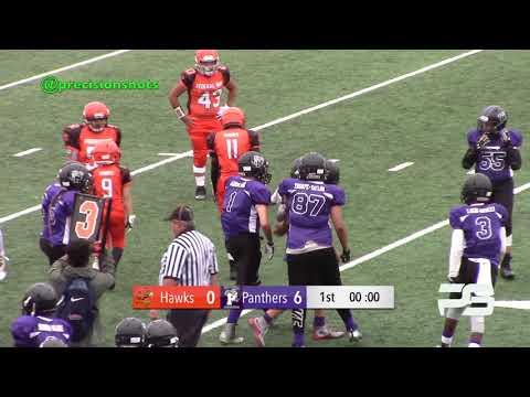 Battle 4 Top Dawg I Federal Way Hawks I Tacoma Panthers I 7th Grade I Week 1 I 2018