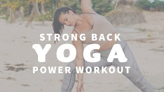 YOGA CLASS ☀️ Yoga for Lower Back, Hips and Hamstrings | Vieques Puerto Rico