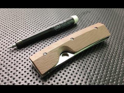 How to disassemble and maintain a Spyderco Nilakka Pocketknife
