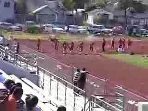 Aaron Simpson 100 Meter Dash