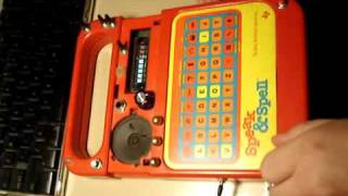Circuit Bent Speak & Spell -.mp4