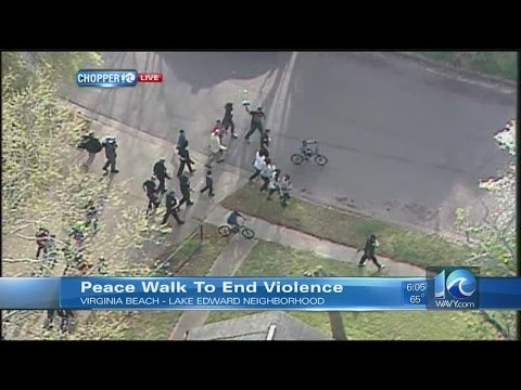 Peace Walk to end violence in Lake Edward