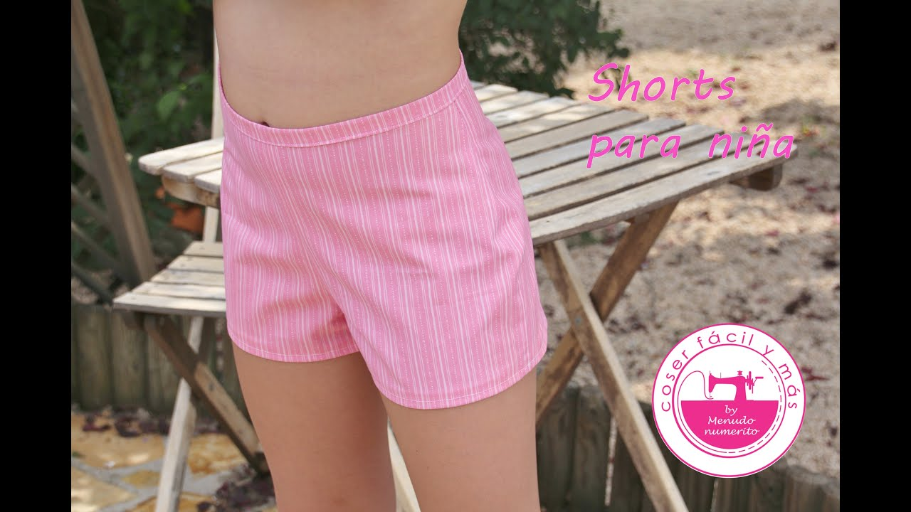 6e3a026f0 Cómo hacer unos shorts o pantalones cortos - YouTube