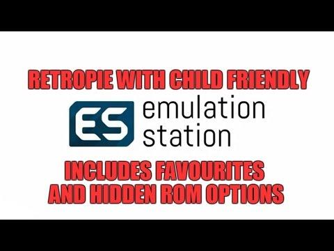Kid Friendly EmulationStation