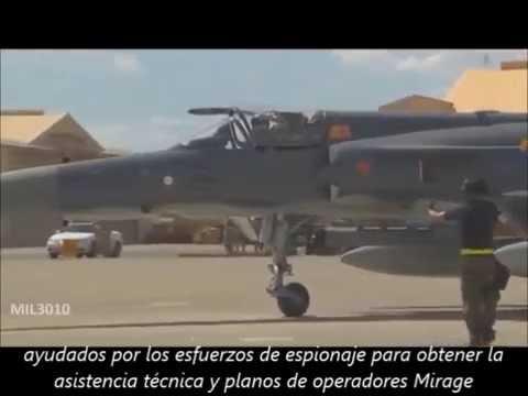 Basados en el desarrollo del Mirage V nació el IAI Nesher y el programa Kfir