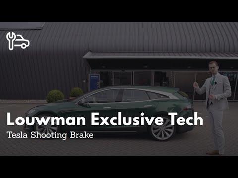 Tesla Shooting Brake by Niels van Roij Design