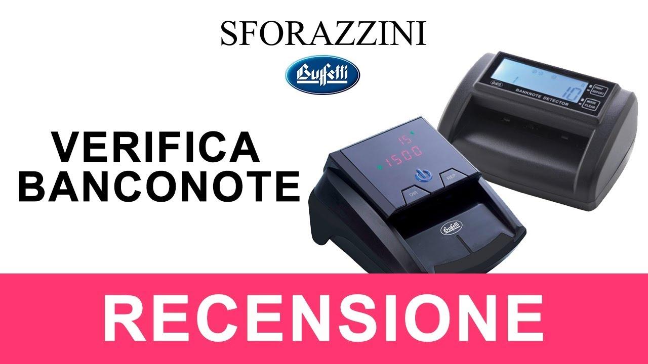 RILEVATORE VERIFICA BANCONOTE FALSE AGGIORNATO 100/% BUFFETTI PRO HT-7000 TESTATO