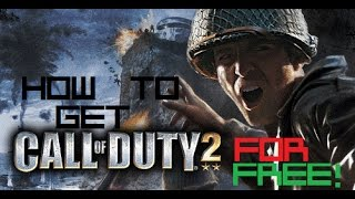 How to Get Call of Duty 2 on PC For Free With Multiplayer! 2016! No Torrents! No Surveys!