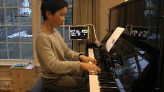 Ridgefield Suzuki School, Piano Book 4 Graduation, Teacher Anh Rozman