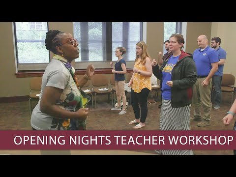 Opening Nights Performing Arts and Leon County Schools host poetry teacher workshop