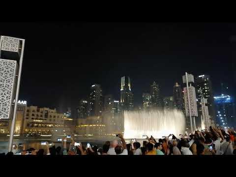 Dubai Fountain (Dec 2019)