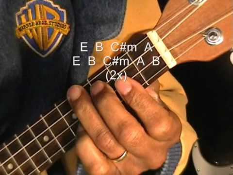 How To Play Hey Soul Sister On Ukulele Tutorial Lesson